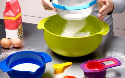 Kolorowe akcesoria kuchenne od Joseph Joseph