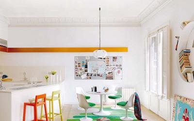 Kolorowy apartament w barcelonie 3