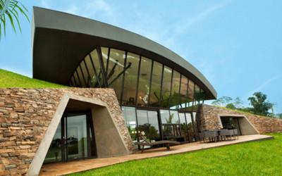 Koncepcja luksusowej rezydencji z Paragwaju