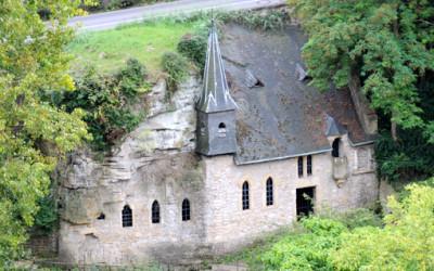 Kościół w skale w Luksemburgu
