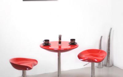 Krzesła barowe UNIQUE Spoony