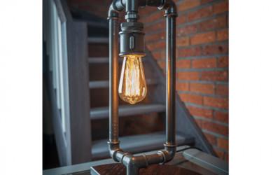 Lampka stołowa ręcznie robiona