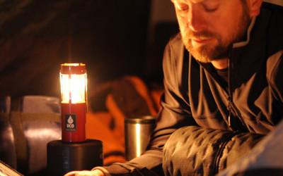 Latarnia ze świeczką