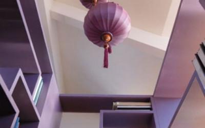 Loft w odcieniach fioletu 14
