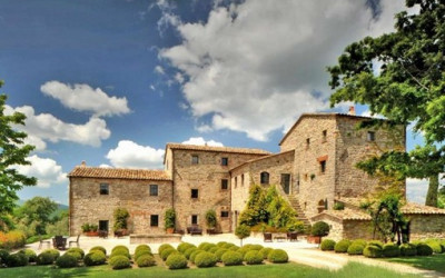 Luksusowa rezydencja w Umbrii (Włochy)