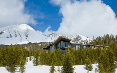 Luksusowy i elegancki domek górski