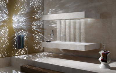 Luksusowy leżący prysznic