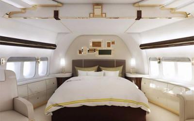 Luksusowy prywatny samolot
