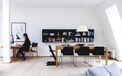 Małe, ale przestronne mieszkanie