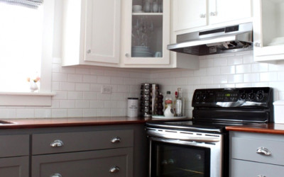 Modna kuchnia - dwukolorowa kuchnia