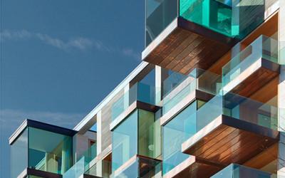 Niesamowita architektura ze szklanych kostek