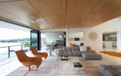 Nowoczesny apartament w kolorze karmelu