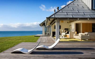 Odprężający dom w Nowej Zelandii