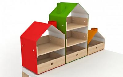 Organizer w kształcie domku 3