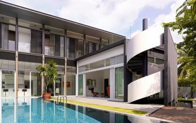Oszałamiający słoneczny dom