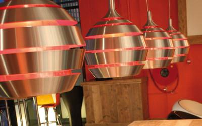 Ozdobna lampa Halley