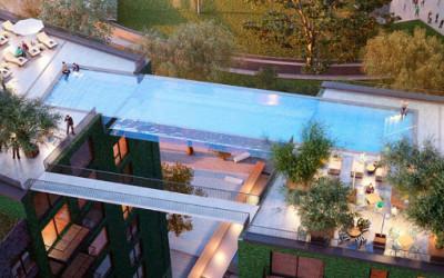 Pierwszy taki na świecie podniebny basen