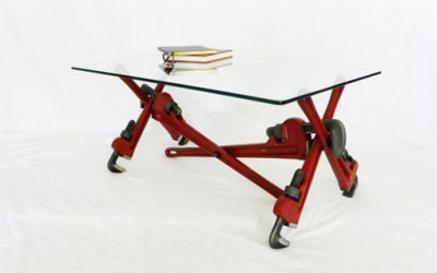 Pipe Wrench Coffee Table 4