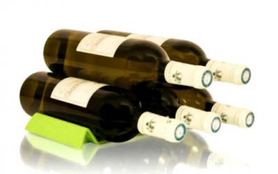 Podstawka do przechowywania butelek VacuVin Easy Stack  1