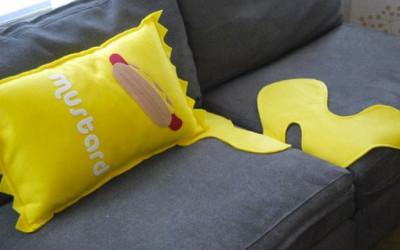 Poduszki Mustard  1