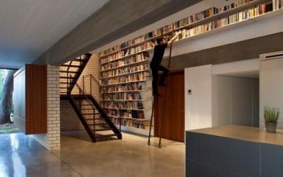 Półki na książki jakich nie znacie