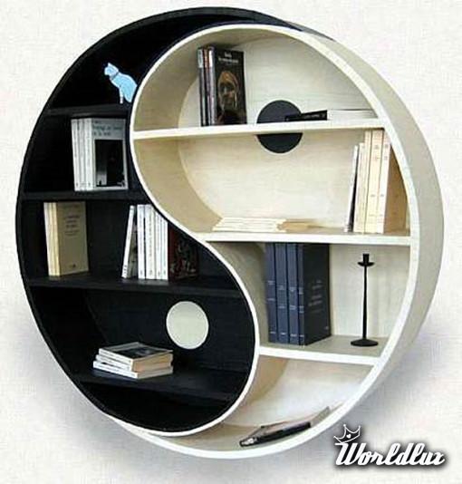 Modernistyczne Designerskie półki z kartonu - Te dwie pomysłowe półki zostały FJ16