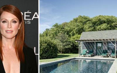 Posiadłość Julianne Moore wystawiona na sprzedaż