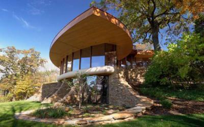 Rezydencja Chenequa w kształcie liści