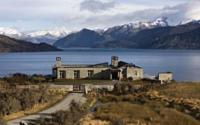 Rezydencja z górskim krajobrazem