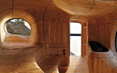 Sauna - Grota z Kanady