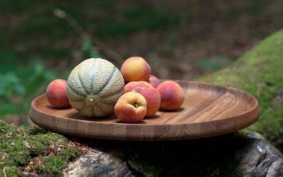 Skagerak Nordic - porcelanowe miski, miseczki oraz tekowe tace