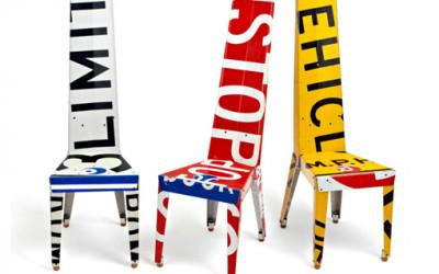 Unikatowe krzesła