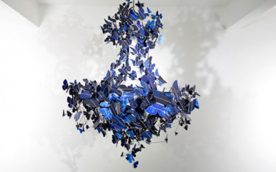 Virtue of Blue Chandelier 2