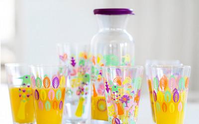 Wiosenne szklanki Sagaform