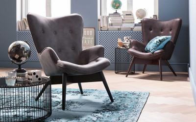 Wygodne fotele - rozsiądź się w salonie