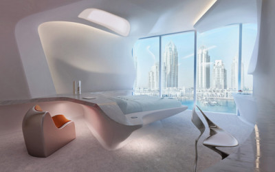 Zahad Hadid projektuje wnętrze dla dubajskiego Opus Office Tower