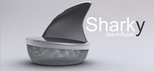 Zaparzacz do herbaty Sharky 1