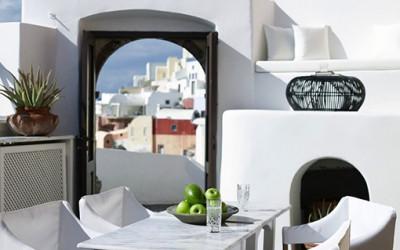 Zjawiskowy apartament na Santorini