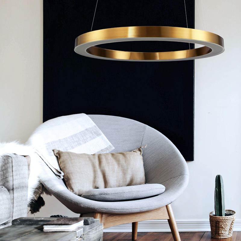 Lampa wisząca Circle do salonu