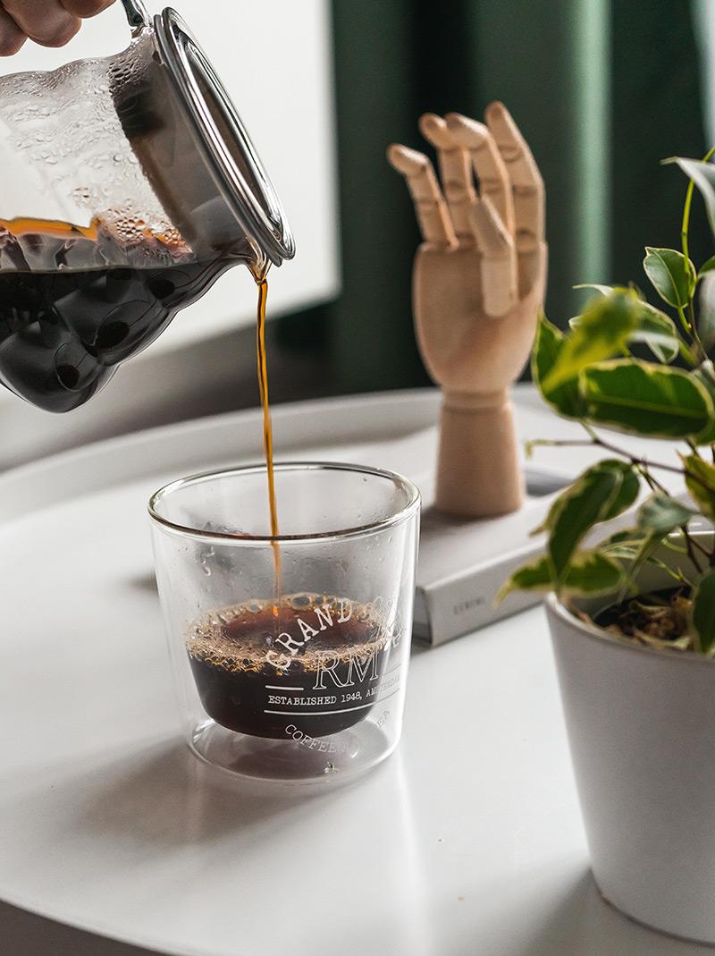 Szklanka termiczna na espresso