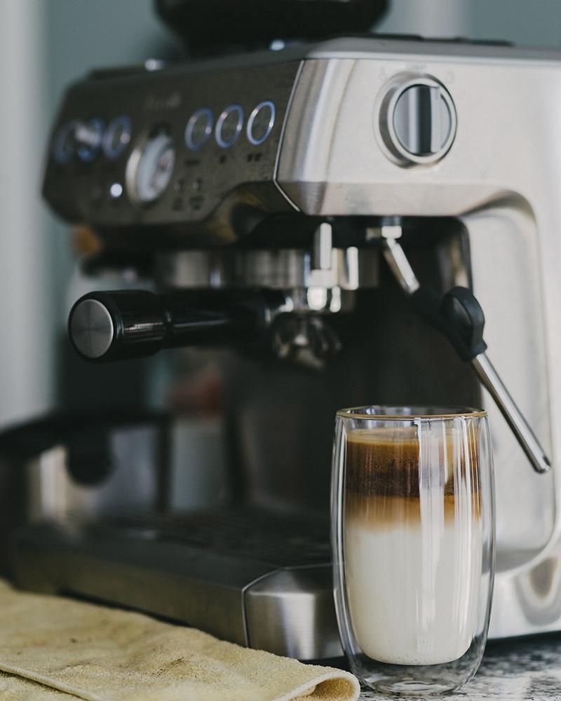 Szklanka termiczna do latte macchiato